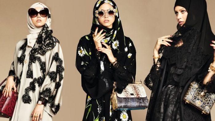 82db84d1694a17 »Abayas », la nouvelle collection de Dolce Gabbana qui met en relief la  beauté des femmes arabes