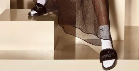 Puma: Rihanna imagine des claquettes à fourrure… top ou flop