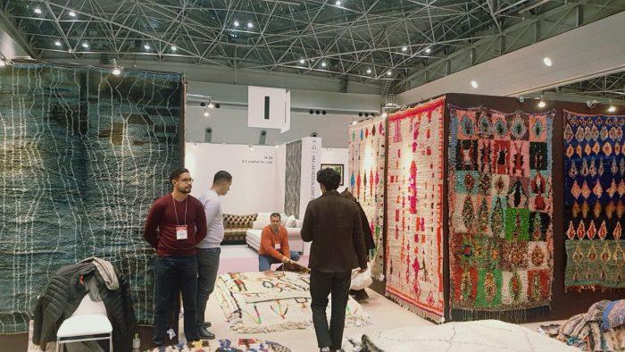 La maison de l 39 artisan marocain participe au salon for La maison de l artisan