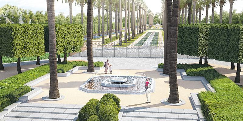 Casablanca 35 centim tre d 39 espace vert par habitant au for Societe espace vert