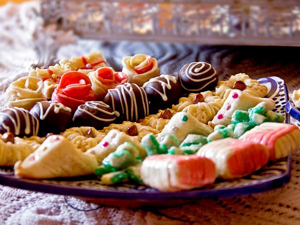 الحلويات المغربية تضم انواعا لا تعد ولاتحصى