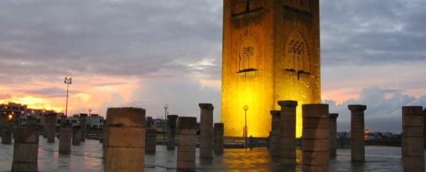 صومعة حسان بالعاصمة الرباط