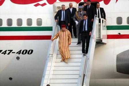 ملك المغرب يزور جنوب السودان