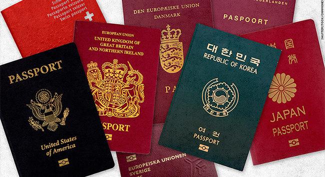 لماذا تختلف ألوان جوازات السفر من دولة إلى أخرى ؟