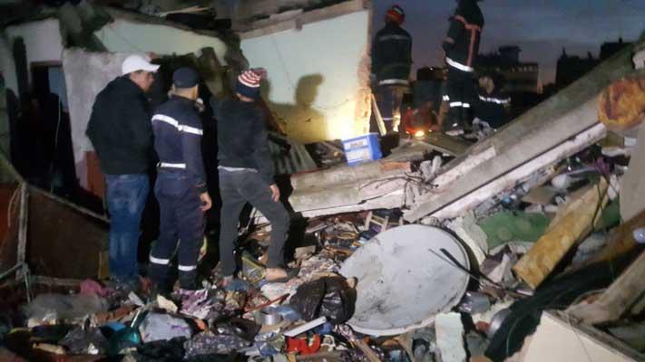 قتيل وجرحى في حادث انهيار سقف منزل بالدار البيضاء