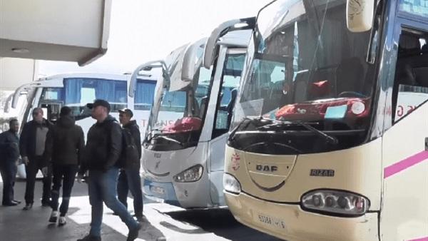 بـلاغ حول استئناف أنشطة قطاع نقل المسافرين